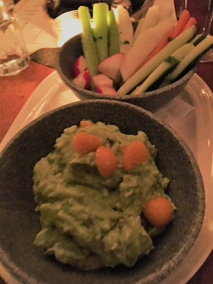 Guacamole and Veggie Basket (2)