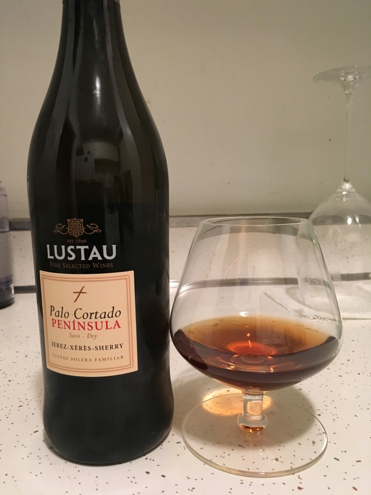 Palo Cortado Bottle Shot and Glass