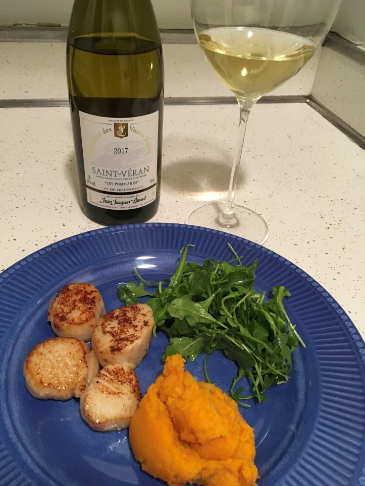 Scallops and Saint Veran