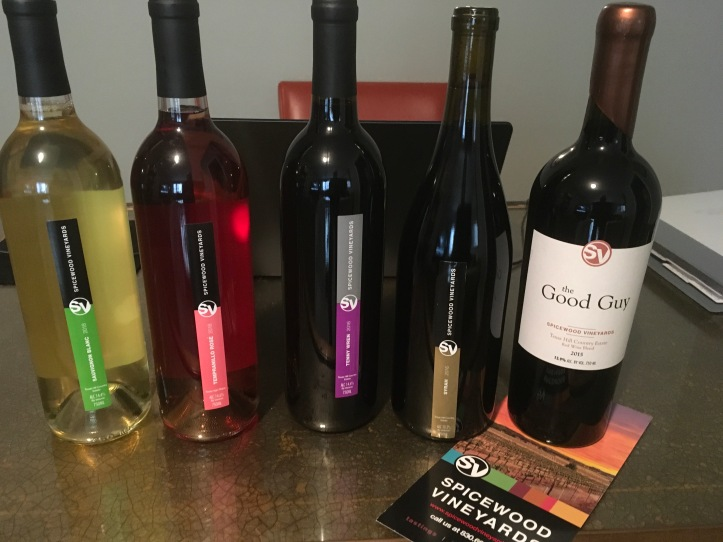 Spicewood Vineyards Line Up