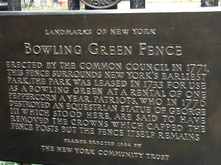 Bowling Green Fence