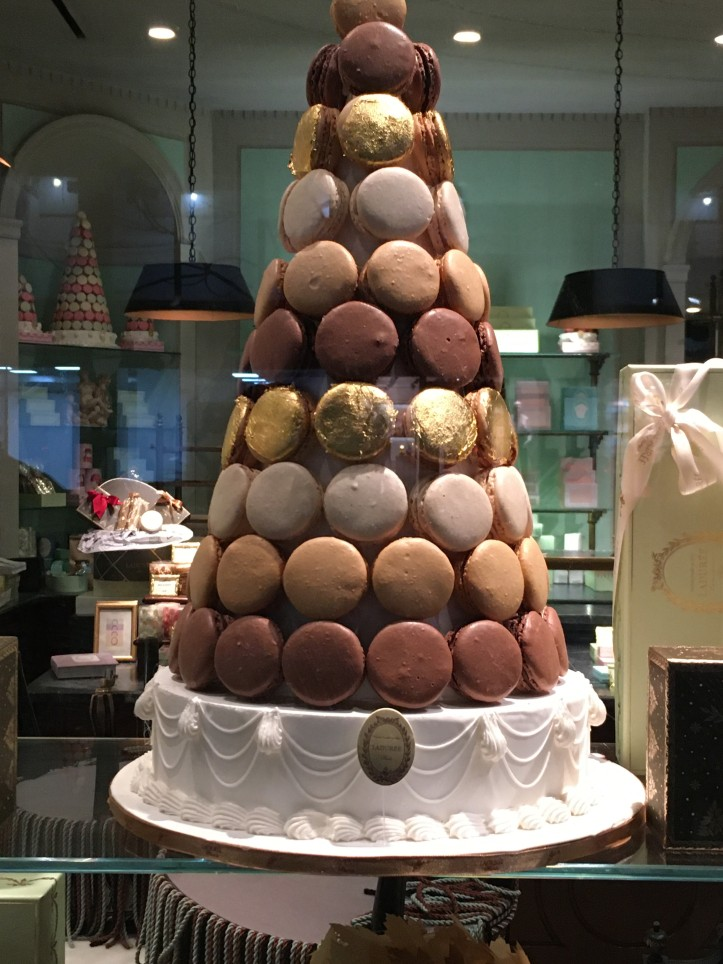 Macaron Tree at La Duree