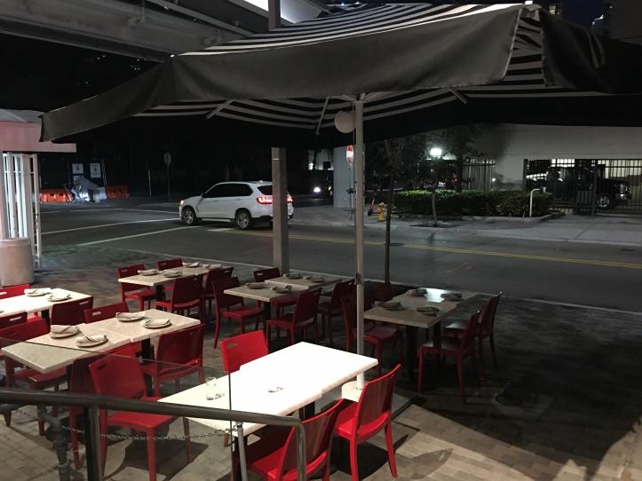 Empty Seats at DC Pie
