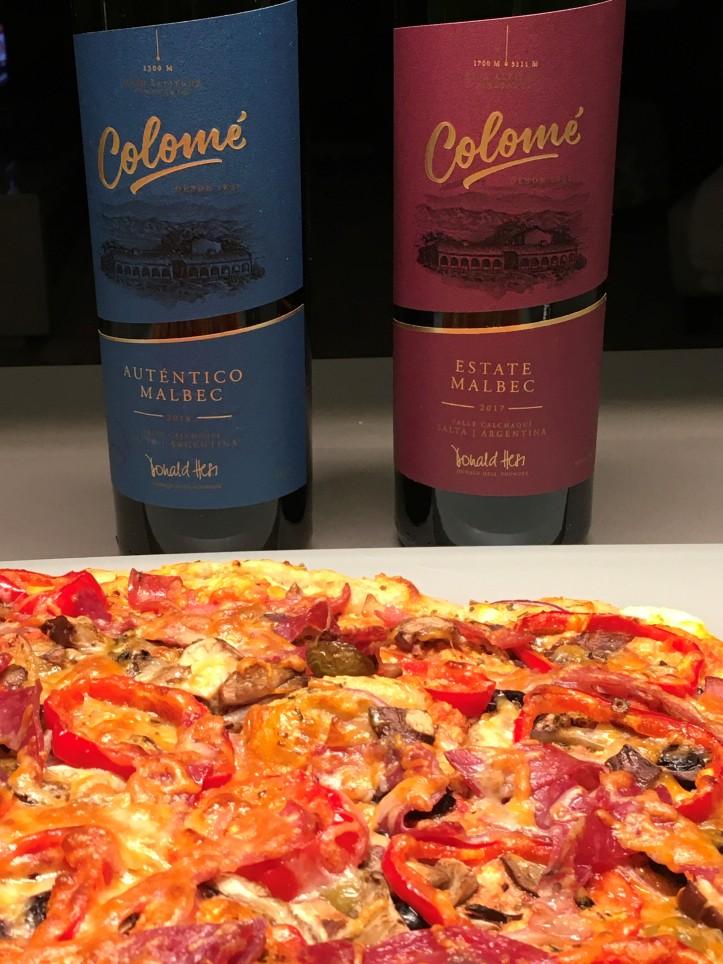 Estate and Autentico with Pizza