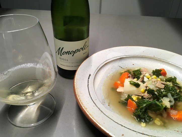 Monopole and Chicken Soup