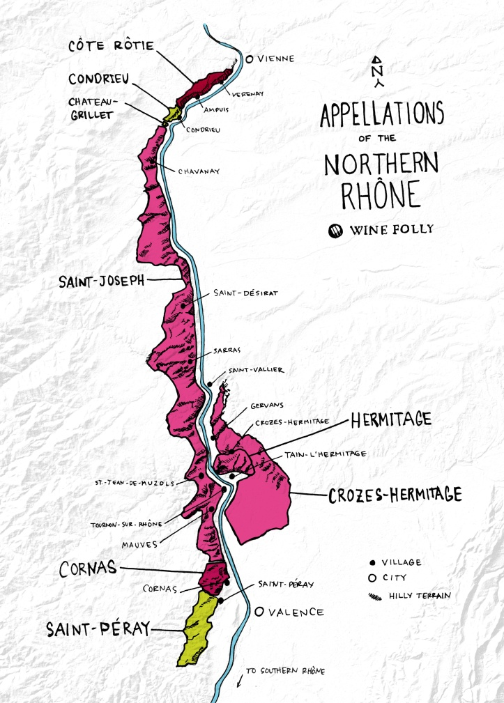 northern-rhone-wine-folly-map