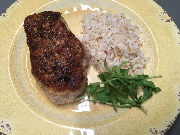 Pork Chop and Rice