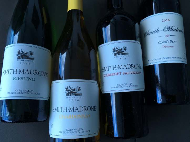 Smith Madrone Line Up